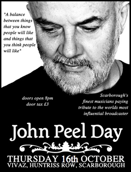 John Peel Day Scarborough Event