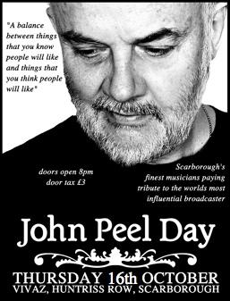 John Peel Day Scarborough Event